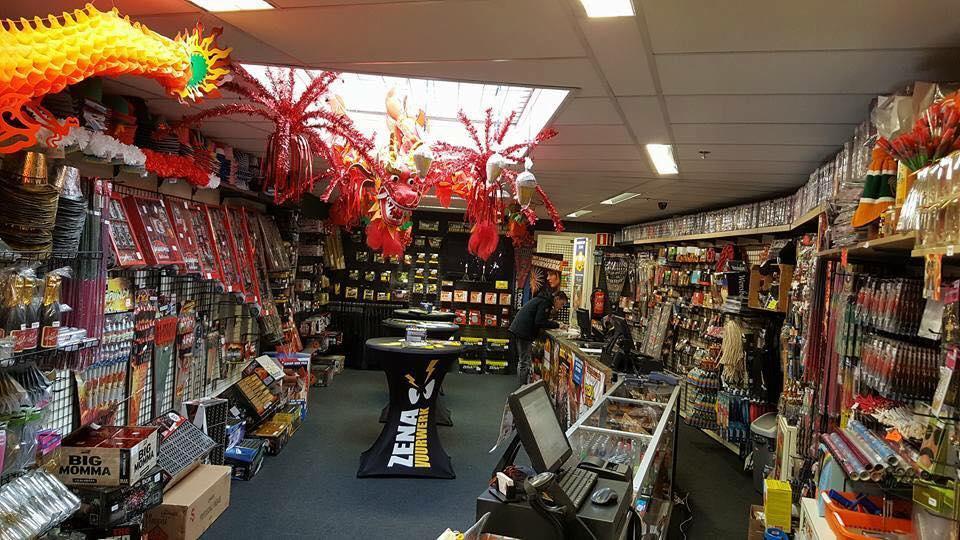Kom naar onze vuurwerkwinkel in Tilburg